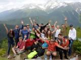 Корпоративная игра в горах